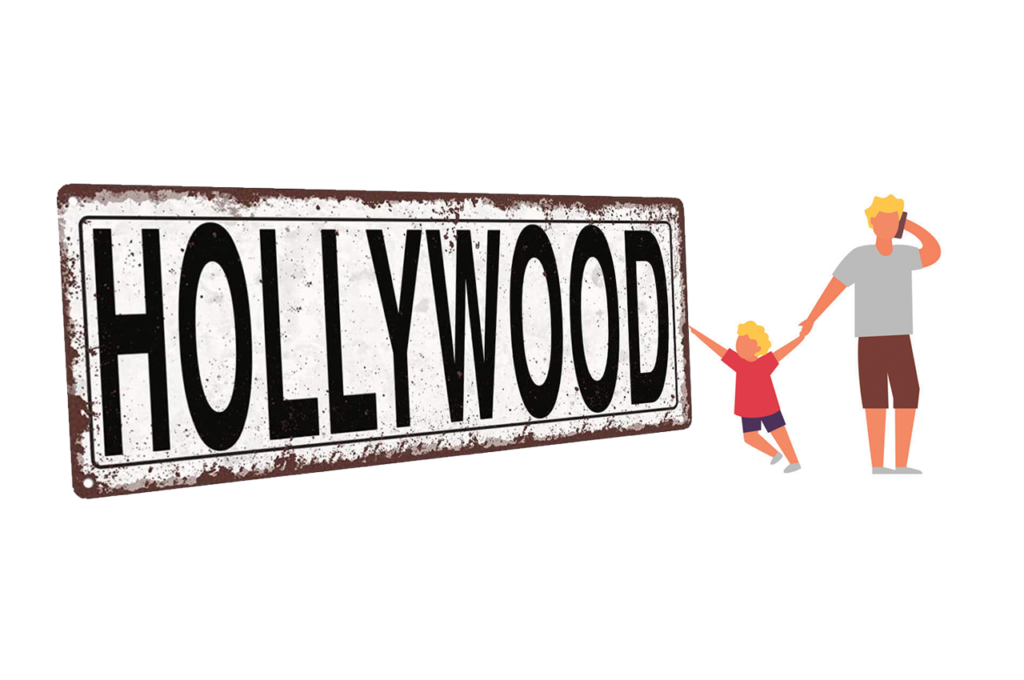 The parent-child relationship — even in Hollywood
