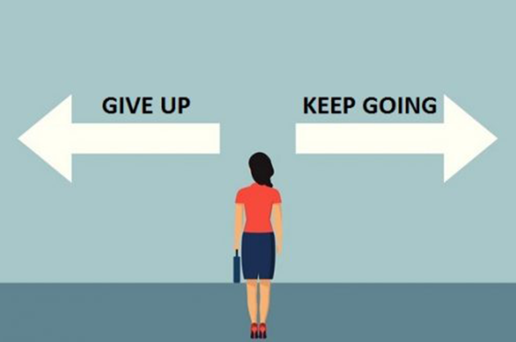 Easier to give up