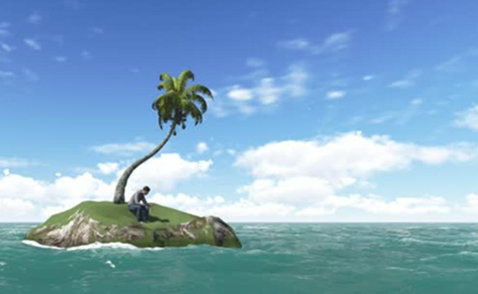 When a man is an island